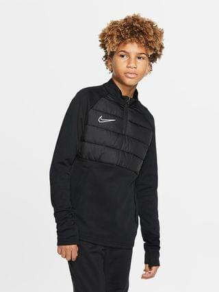 KIDS Big Kids' Soccer Drill Top Nike Dri-FIT Academy Winter Warrior