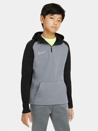 KIDS Big Kids' 1/4-Zip Soccer Drill Hoodie Nike Dri-FIT Academy