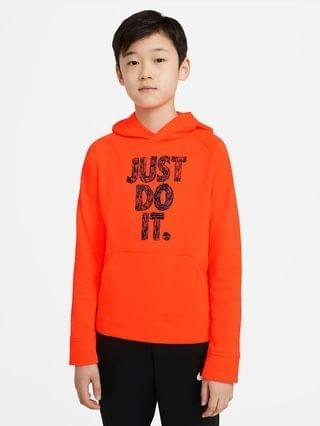 KIDS Big Kids' (Boys') Graphic Pullover Training Hoodie Nike Therma