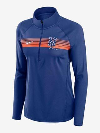 WOMEN 1/2-Zip Pullover Nike Dri-FIT Element (MLB New York Mets)