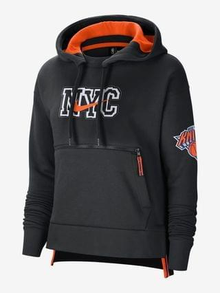 WOMEN Nike NBA Pullover Hoodie New York Knicks City Edition Courtside