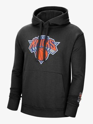 MEN Nike NBA Pullover Hoodie New York Knicks City Edition Logo