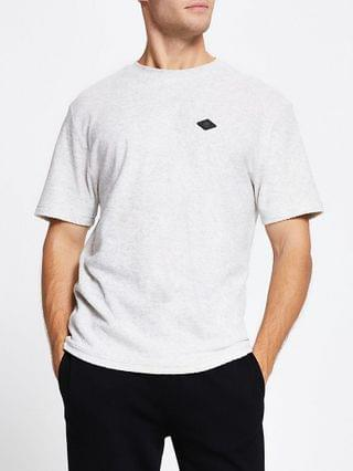 MEN Grey 'RR' short sleeve t-shirt