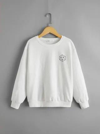 KIDS Graphic Print Pullover