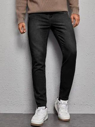 MEN Ripped Washed Jeans