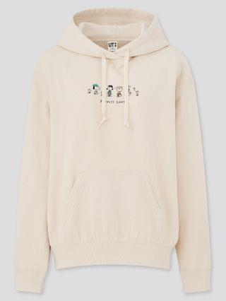 WOMEN peanuts x yu nagaba long-sleeve sweat pullover hoodie