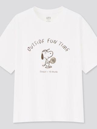 WOMEN peanuts x yu nagaba ut (short-sleeve graphic t-shirt)