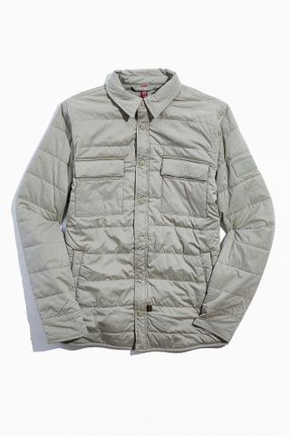 MEN Alpha Industries Quilted Utility Shirt Jacket
