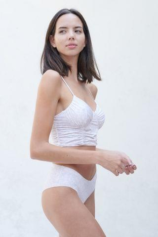 WOMEN Out From Under Girl Crush Ruched Bra