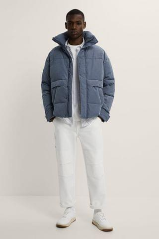 MEN POCKETS PUFFER JACKET