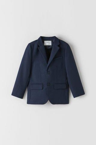 KIDS TEXTURED WEAVE SUIT JACKET