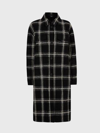 WOMEN Nia Wool Blend Mono Coat