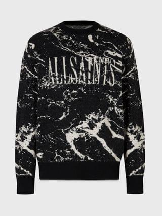 MEN Marble Saints Crew Sweater