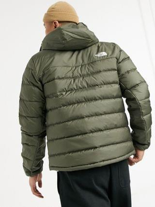 The North Face Acncga hooded jacket in green