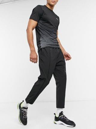 Puma Training first Mile texture woven track pants in black