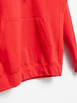 Nike tall club hoodie in red