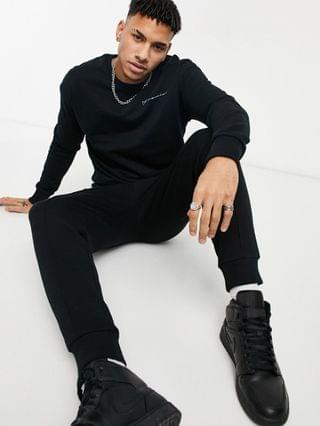 TEST JACK & JONES PREMIUM SWEATSHIRT IN RELAXED FIT WITH  Jack & Jones Premium sweatshirt in relaxed fit with 'Paradox' back print in black