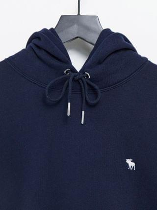 Abercrombie & Fitch icon logo hoodie in navy
