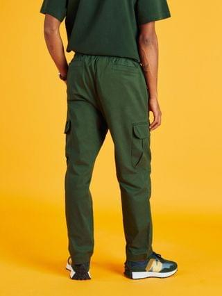 New Balance cargo pants in green exclusive to