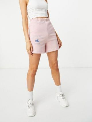 WOMEN New Girl Order Exclusive La Jolla beach shorts set in pink