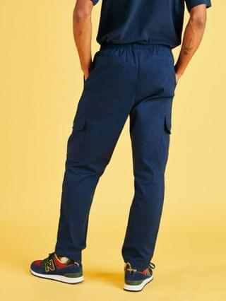 New Balance cargo pants in navy exclusive to