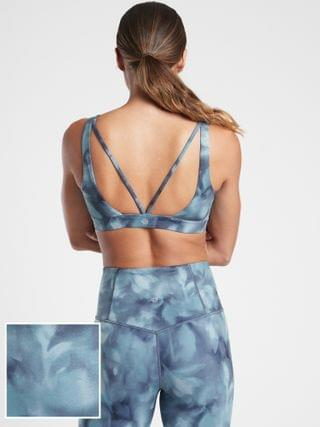 WOMEN Exhale Printed Bra A-C