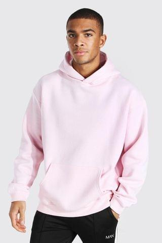 MEN Oversized Original Man Embroidery Hoodie