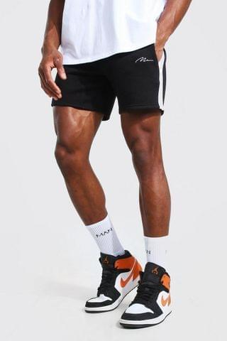 MEN Signature Short Length Panel Jersey Short