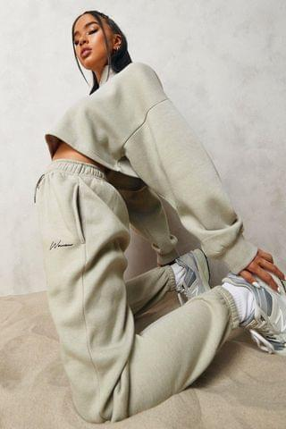 WOMEN Signature Half Zip Cropped Tracksuit