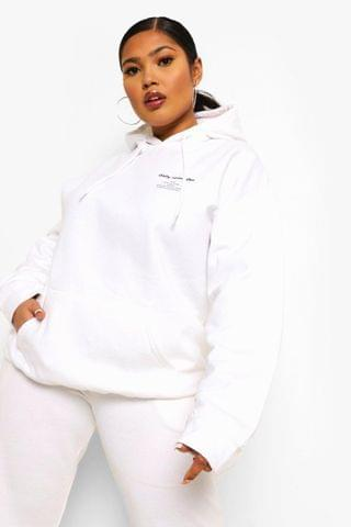WOMEN Plus Daily Reminder Hoodie