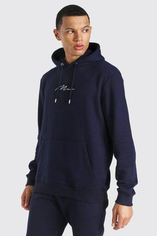 MEN Tall Man Signature Embroidered Hoodie