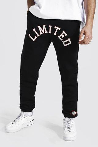 MEN Limited Edition Printed Regular Joggers