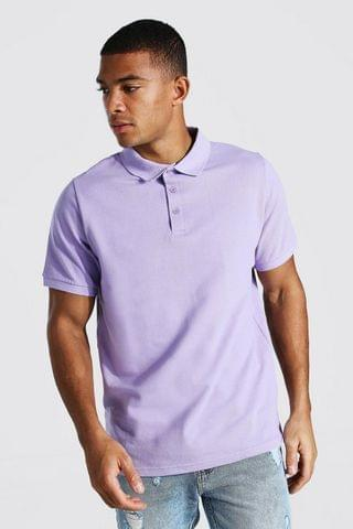 MEN Basic Pique Polo