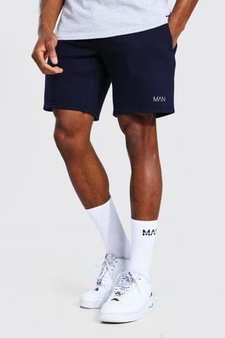 MEN Original Man Mid Length Regular Jersey Shorts