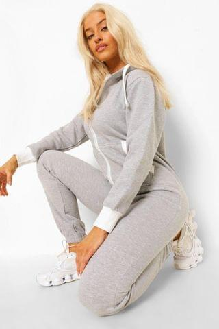 WOMEN Solid Colour Onesie
