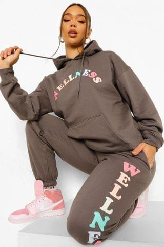 WOMEN Wellness Print Tracksuit