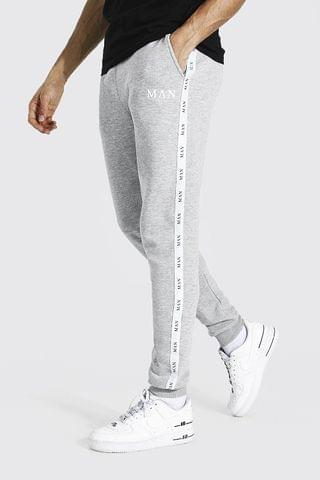 MEN Tall Skinny Fit Jogger With Tape
