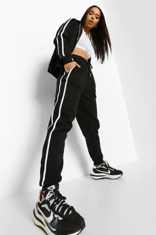 WOMEN Side Stripe Zip Through Tracksuit