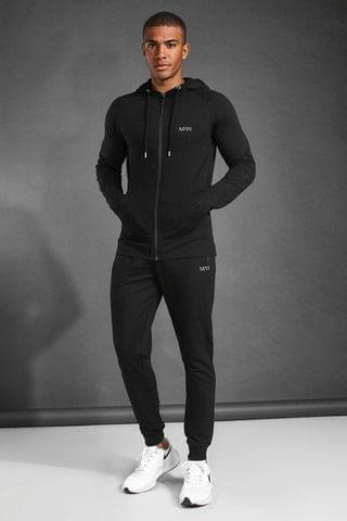 MEN Active Skinny Fit Hooded Tracksuit