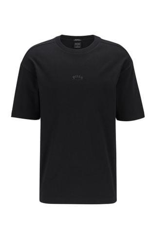 MEN Relaxed-fit T-shirt in cotton with reflective rear logo