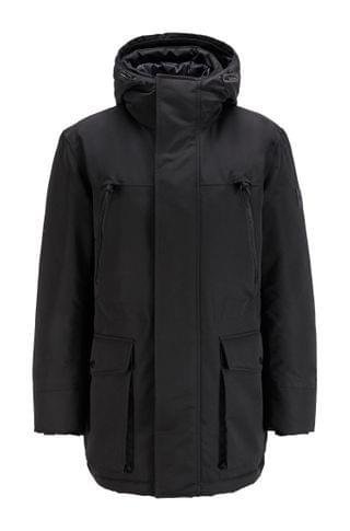 MEN Regular-fit down-filled parka in water-repellent fabric
