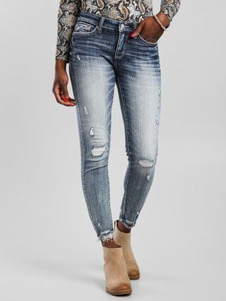 WOMEN Buckle Black Fit No. 53 Mid-Rise Ankle Skinny Jean