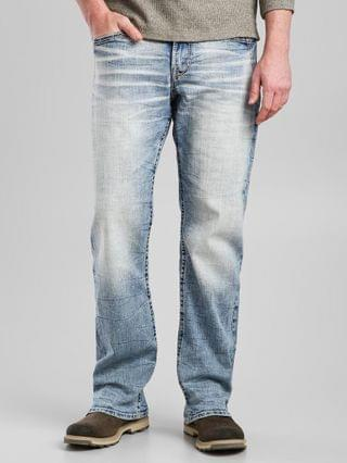 MEN Salvage Anarchy Straight Stretch Jean