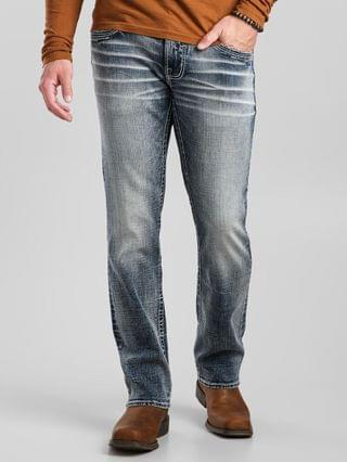 MEN Salvage Mayhem Straight Stretch Jean