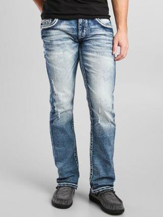 MEN Rock Revival Joaquin Straight Stretch Jean