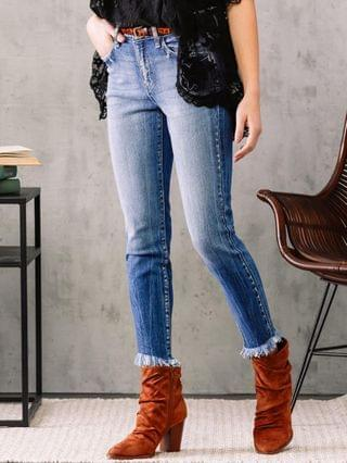 WOMEN KanCan Signature Mid-Rise Ankle Skinny Jean