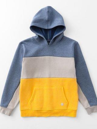 KIDS Departwest Boys - Color Block Hooded Sweatshirt