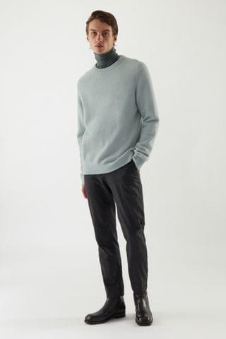 MEN BOILED WOOL SWEATER