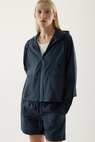 WOMEN HOODED ANORAK