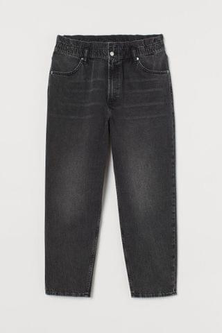 WOMEN H&M+ Mom Loose-fit High Jeans